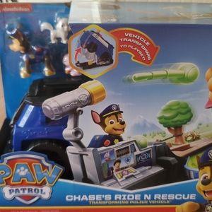 Paw patrol  chase's ride n rescue  nib